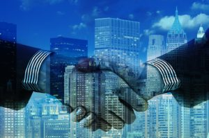 Business Transition Plan Handshake