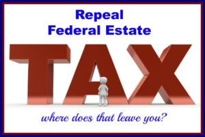 Federal Estate Tax Repeal 2016